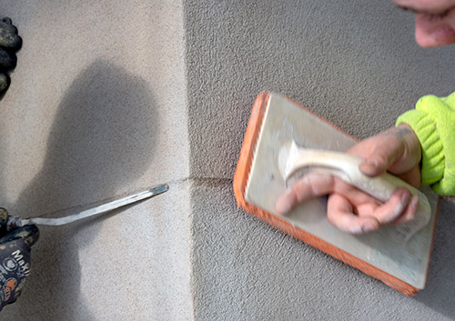 Öresunds fasad & kakel putsning